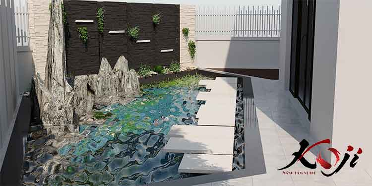 Thiết kế hồ cá 3D