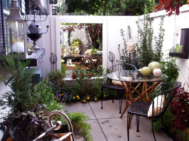 Thiết kế quán cafe sân vườn nhỏ thu hút
